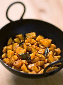 Vegetarian indian potato masala curry — Stock Photo