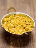 Indyjski wegetariańska kapusta thoran — Zdjęcie stockowe