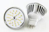 Two MR16 LED bulbs without accidentally — Stock Photo