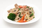 Gluten free pork stir fry — Stock Photo