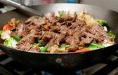 Hausgemachte rindfleisch-rühren-braten — Stockfoto