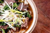 Short rib beef pho, a delicous vietnamese dish — Stockfoto