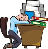 Quebrar no escritório — Vetor de Stock