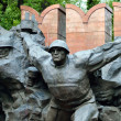 28 Panfilov Heroes Monument in Almaty — Stock Photo