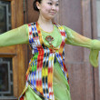 Stock Photo: Uzbek dancer in national clothes