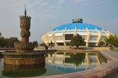Circus Building in the Tashkent — Stock Photo