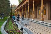 Monumento de la 2ª guerra mundial en tashkent — Foto de Stock