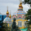 Zenkov Cathedral in the city of Almaty — Stock Photo #5999790