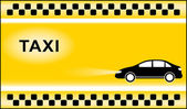 Taxi background with cab symbols light — Stock Vector