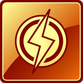 Isolated power icon — Stockvektor