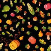 Vector pattern, autumn — Stock Vector