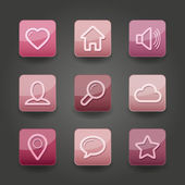 App Icons — Vector de stock