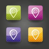 App pictogrammen — Stockvector