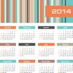 Calendar 2014 — Stock Vector #32605759