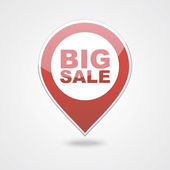 Mapping pins icons BIG SALE — Stock Vector