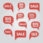Text bubble SALE — Stock Vector