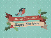 Merry Christmas Card — Stock vektor