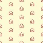 coração no envelope — Vetorial Stock