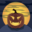 Halloween pumpkin vector — Stock Vector #50487719