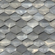 Texture of metal tiles — Stock Photo