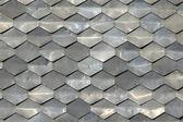 Texture of metal tiles — Stock Photo
