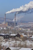 産業都市の景観 — ストック写真