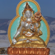 Stock Photo: Sculpture of the Buddhist deity