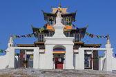 Estupa budista en el monasterio — Foto de Stock