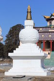 Buddhist stupa-Suburghan — Stock Photo