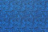 Textura de papelão ondulada com ornamento — Fotografia Stock