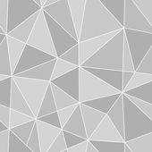 Seamless triangles texture, abstract illustration — Vecteur