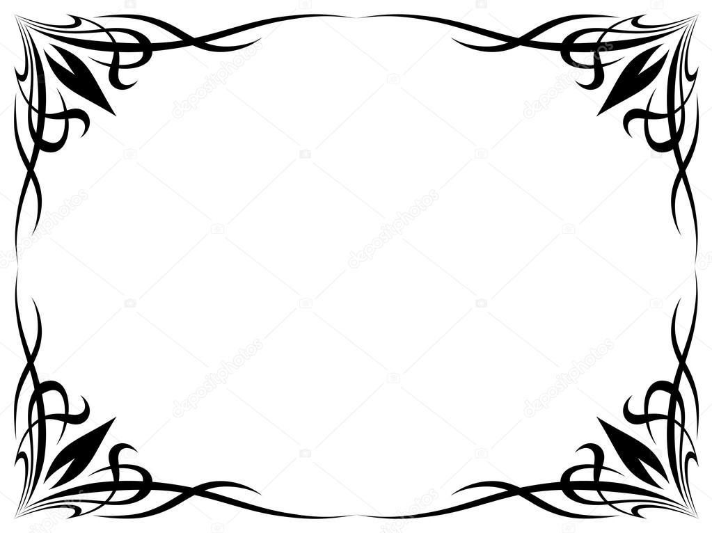 Simple Black Tattoo