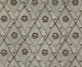 Seamless texture door bind with iron nailed metal — Stock Photo
