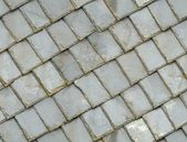 Seamless old gray roof slates texture background — Stock Photo