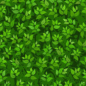 Seamless abstract green leaves background — Stock Vector