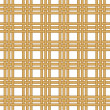 Seamless wicker woven texture background — Stock Vector