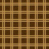柳条篮编织图案无缝纹理 — 图库矢量图片
