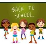 Torna a scuola — Vettoriale Stock  #12289627