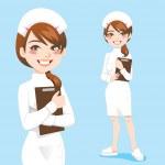 Beautiful Nurse — Stock Vector #12640271