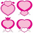 Love Hearts — Stock Vector