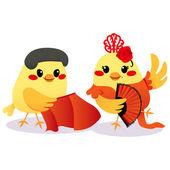 传统的西班牙鸟 — 图库矢量图片