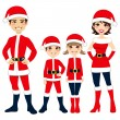 Santa Claus Family — Stock Vector #14097958