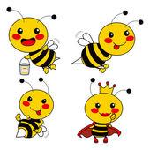 Cute Bee — Stock Vector