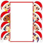 Amis de l'enfance de Noël — Vecteur