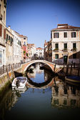 Venice canal, Italy — Stock Photo