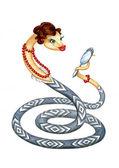 Snake - a symbol of 2013 — Stock Photo