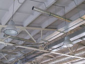 Ceiling of the production room — Stock Photo