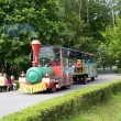 Attraction, children's train — Stock Photo #16814799