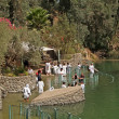 Israel Place for ablution in holy waters of the Jordan River - Yordanit — Stock Photo #17347315