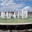 Stock Photo: Israel. fountain on embankment of Tel Aviv